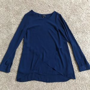 The Limited Navy XS Blouse